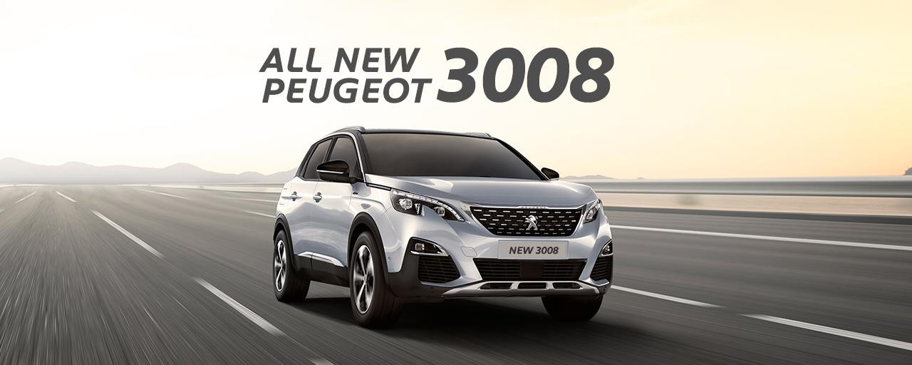 New Peugeot 3008 AT SUV 2019 Indonesia